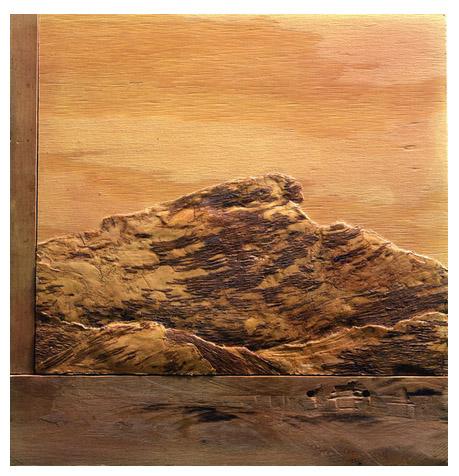 "Llyn Foulkes, ""Eagle Rock"" (1977). Image credit: Artistonia ."