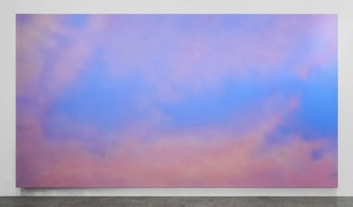 "Alex Israel, ""Sky Backdrop"" (2012). Image credit: Nan Dill via Pinterest."