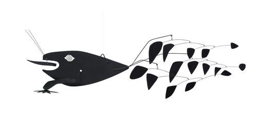 "Alexander Calder, ""Poisson Volant"" (1957). Image credit:Bloombergvia Christie's."