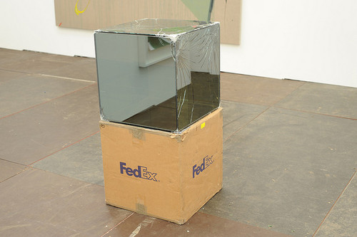 "Walead Beshty, ""FedEx Large Box"" (2005). Image credit:Tiki Chrisvia Flickr."