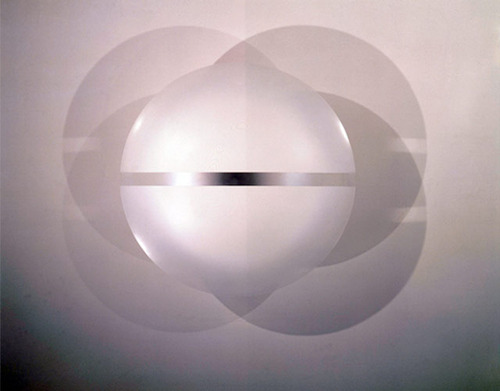 "Robert Irwin, ""Untitled (#2220),"" (1969). Image credit: Venice-in-Venice."