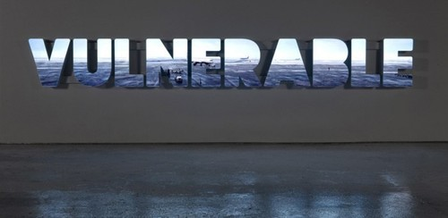 "Doug Aitken, ""Vulnerable"" (2008). Image credit:  Feelsmore ."