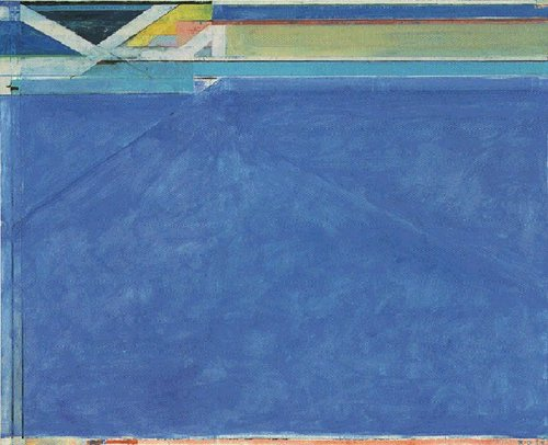"Richard Diebenkorn, ""Ocean Park No. 129"" (1984). Image credit: Wiki ."