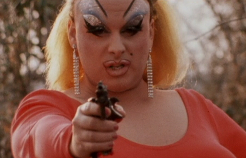 "John Waters, still from ""Pink Flamingos"" (1972). Image credit: Creepers in Cast."