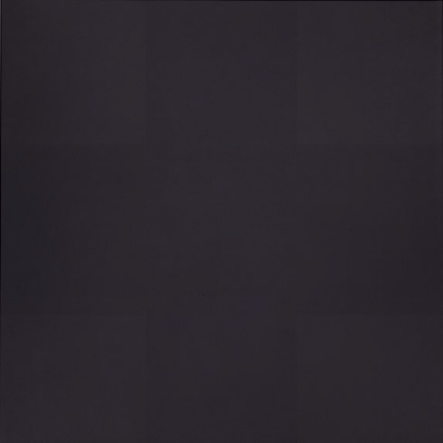 "Ad Reinhardt, ""Abstract Painting"" (1960-66). Image credit: The Guggenheim."