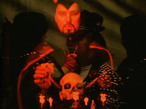 "Kenneth Anger. Still from ""Invocation of My Brother Demon"" (1972). Image credit: From the Barrelhouse."