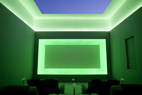 "James Turrell. ""PIcture Plane"" (2004). Private collection, Los Angeles. Image credit:  The Wall Street Journal ."