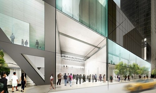 MoMA Concept Rendering: View from 53rd St. Diller Scofidio + Renfro. Image credit:  Vulture .