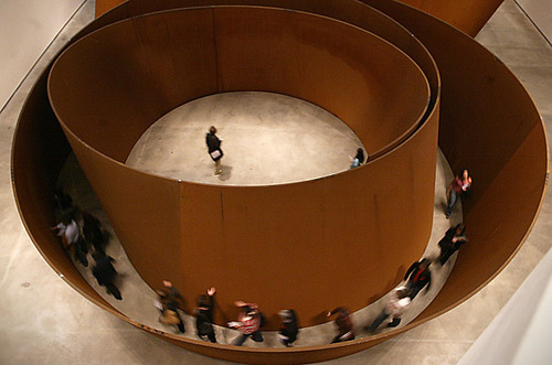 "Richard Serra, ""The Matter of Time"" (2005). Image credit: Art Observed."