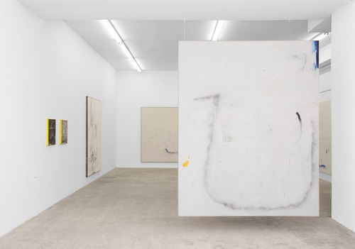 David Ostrowski, installation view at  ltd los angeles  (2012).  Image credit:  Almine Rech .