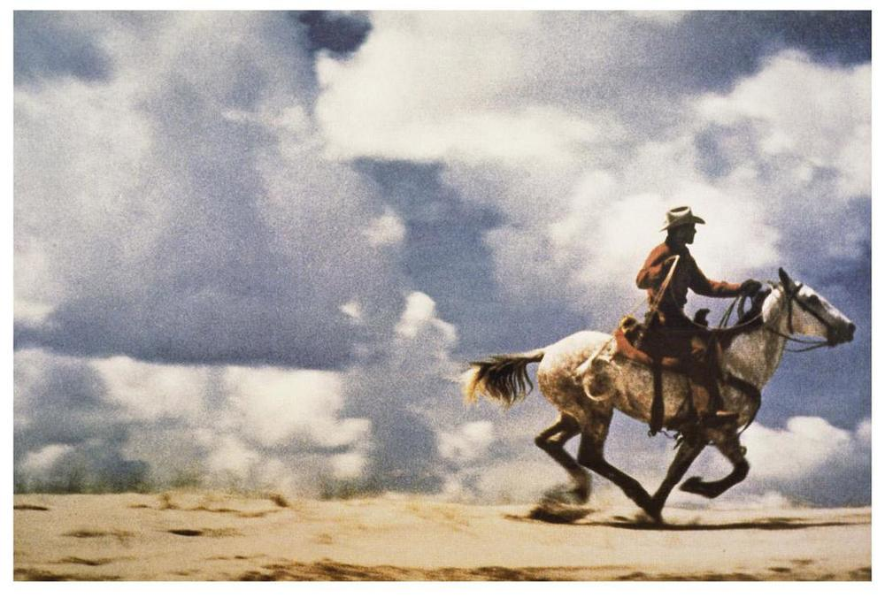 "Richard Prince, ""Untitled (Cowboy)""  (1989). Image credit:  American Suburb X ."