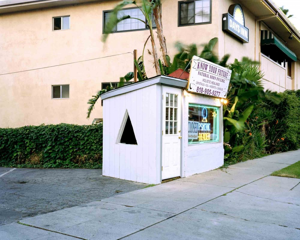 Lisa Anne Auerbach, Know Your Future, North Hollywood, CA (Small Business Series) (2003). Image credit: Installation.