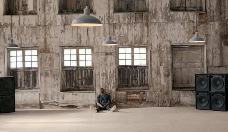 "Kanye West + Steve McQueen, Still from ""All Day/I Feel Like That"" (2015). Image credit: Flavorwire."