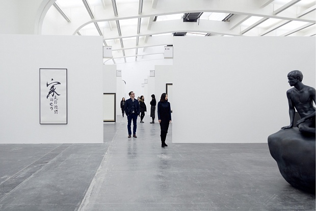 "Elmgreen & Dragset, ""The Well Fair,"" installation view, 2016. Image credit:  The Art Newspaper ."