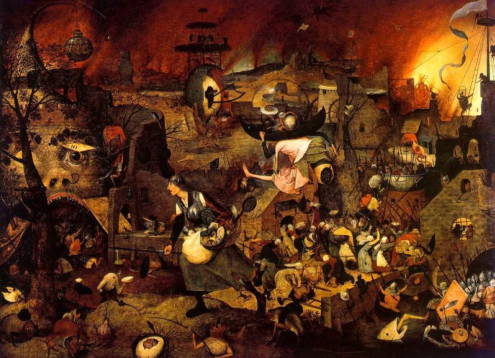 "Pieter Brueghel the Elder, ""Dull Gret,"" 1562. Image credit:  Wikipedia ."