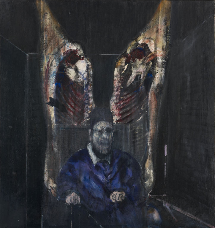 "Francis Bacon, ""Figure with Meat,"" 1954. Image credit: The Art Institute of Chicago."