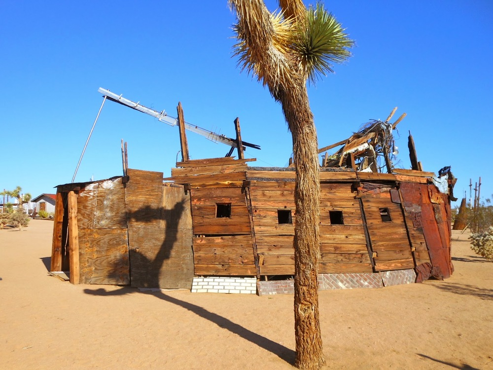"Noah Purifoy, ""Shelter,"" from the Joshua Tree Outdoor Museum. Image credit: Starr Review."
