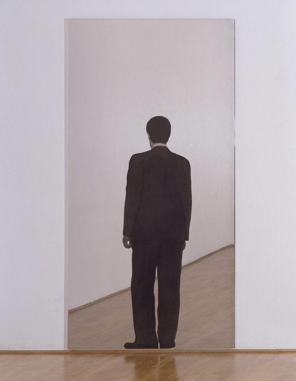 "Michelangelo Pistoletto, ""Standing Man,"" 1962, 1982. Image credit:  Tate ."