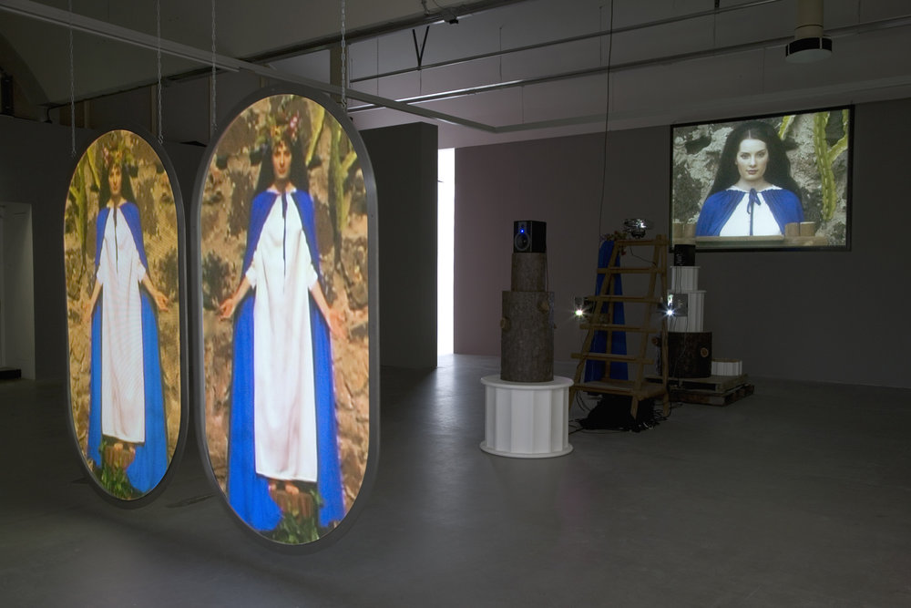 "Mike Kelley, ""Switching Marys,"" 2004-2005. Image credit:  The Red List ."