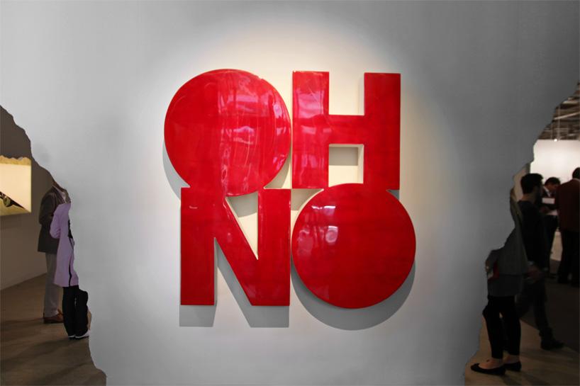 Doug Aitken, OH NO, 2011. Image credit: DesignBoom.