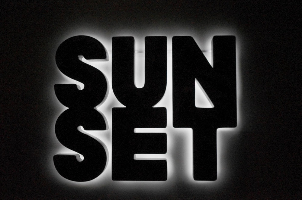 Doug Aitken,  Sunset (black)  (2013). Image credit: Flickr.