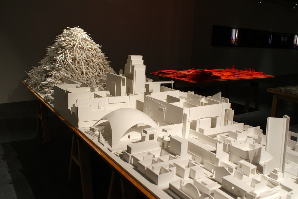 Mike Kelley,  Educational Complex Onwards,  1995–2008 .  Image courtesy of  Flickr user   Marc Wathieu .