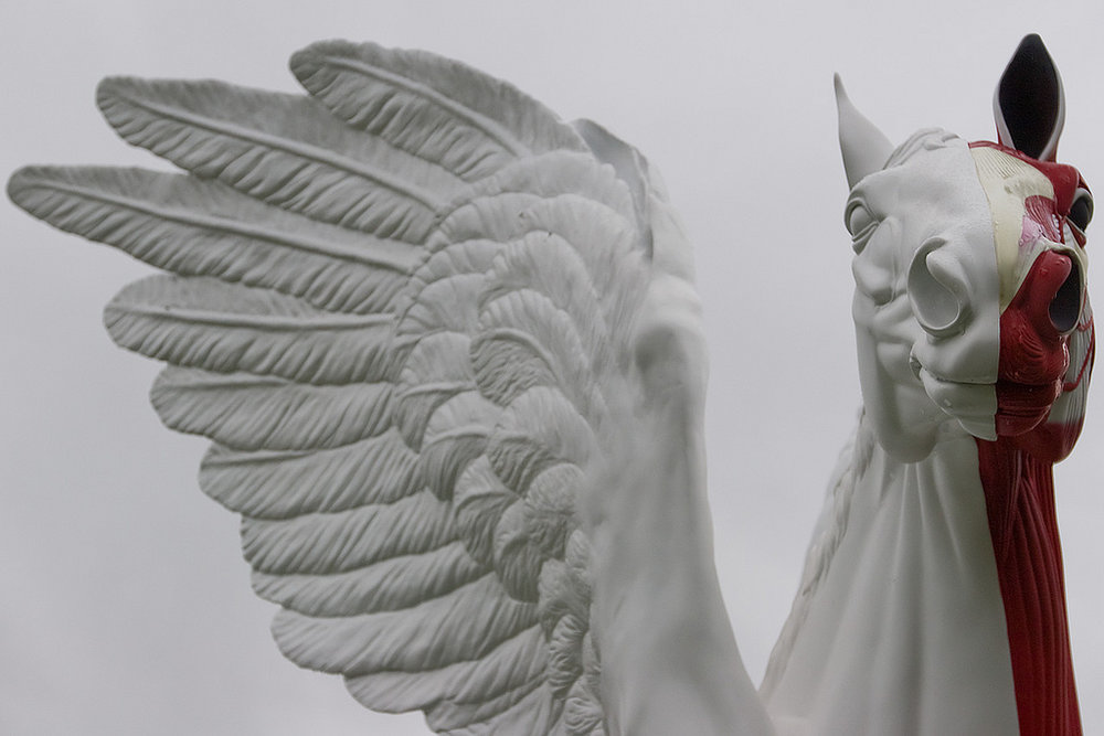 Photo by Damien Hirst,  Legend  (detail), 2011. Photography by  Jonathan Bliss . Courtesy of Flickr.