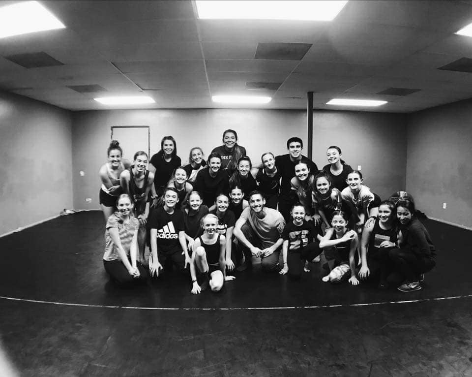Contemporary class with Studio One Dance AZ