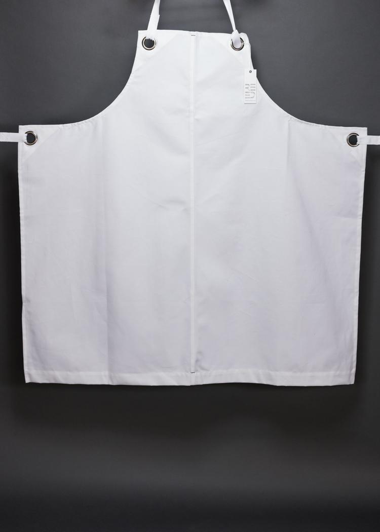 White bib apron - Shannon Reed Unisex Utility Bib Apron