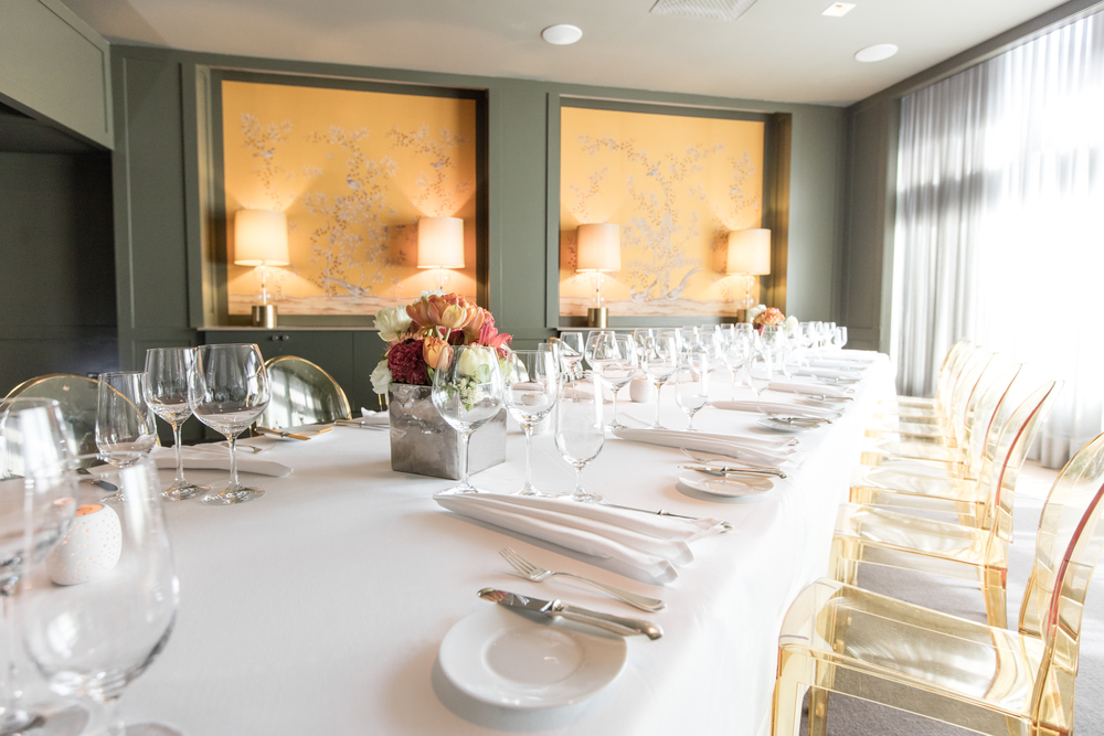 Private Dining At Menton