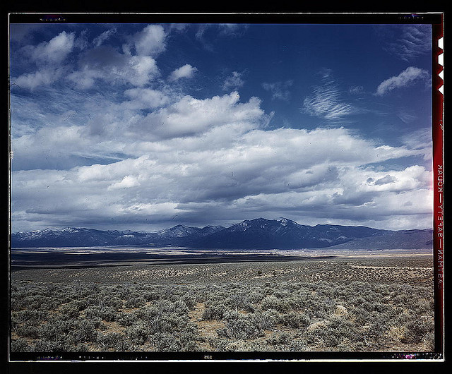Photo of the Arizona desert from the National Archives.