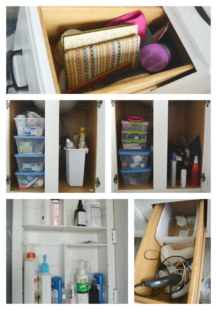 Bathroom Cabinet Organization 2