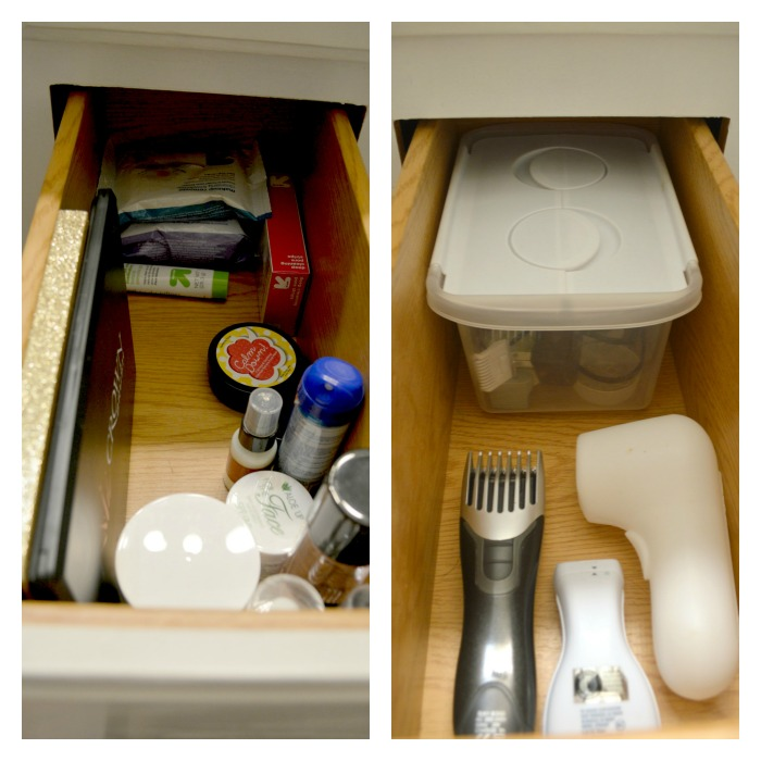 Bathroom Cabinet Organization 7