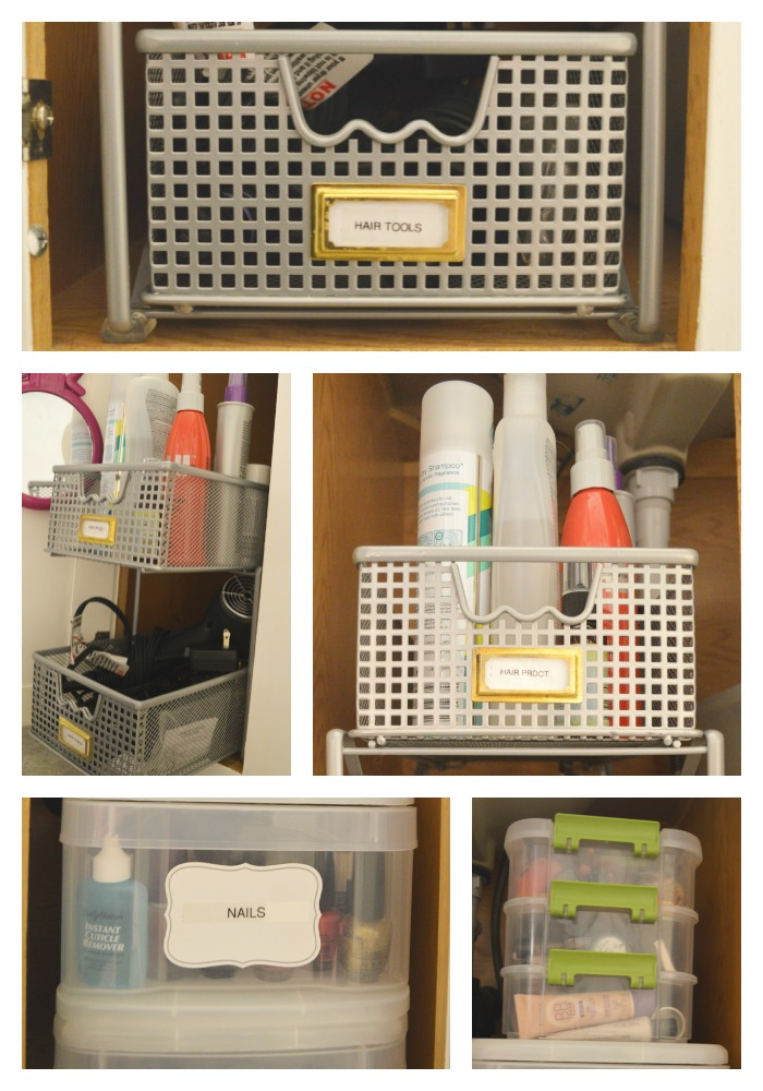 Bathroom Cabinet Organization 9