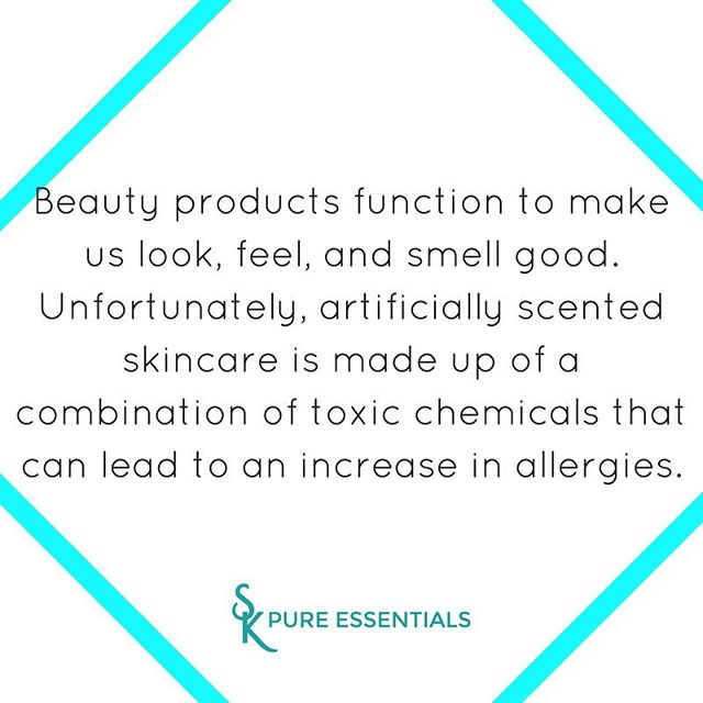 Everyone loves to use products that make you look and feel beautiful. The cosmetics industry has the ability to recreate every naturally occurring scent using artificial chemicals. Companies classify chemical ingredients as proprietary. As as result they are not legally required to list the ingredients. As consumers, we must be conscious of what we put in and on our bodies. Support companies that are invested in our health and well being. Start the process of switching to naturally scented beauty products. Your skin and health will thank you for it. • • • • • Follow Sk_essentials for more skincare tips and products 👠👠👠👠👠👠👠👠👠👠👠👠👠👠 * * * * * * #skincareroutine #skincareblogger #skincaretips #skincareproduct #skincareluxury #skincareproducts #naturalskincareproducts #naturalbeautyproducts #nontoxicbeauty #nontoxicskincare #nontoxic #botanicalskincare #greenbeauty #greenbeautyblogger #greenbeautyproducts #cleanbeauty #skessentials #glowingskin #beautytips #veganbeauty #cleanbeauty #allnaturalbeauty #allnaturalproducts #crueltyfreebeauty #flawlessskin #beautifulskin #beautifulface #purebeauty #holisticbeauty