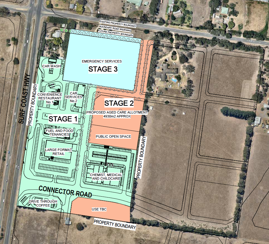 Proposed Site Map
