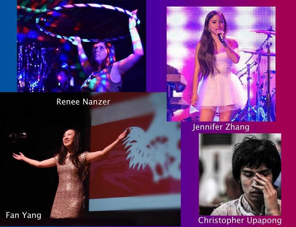 Song Choices:  Fan Yang/Christopher Upapong - COPS AND ROBBERTS; Renee Nanzer - CITY ON FIRE; Jennifer Zhang - TILL DEATH DE WE SCARE.  Performance dates:   April 21 HONG KONG POP MEETS AVANT POP concert  |  May 11 - Tribute to Teddy Robin Kwan Award Night