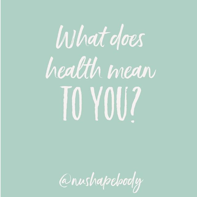 Health can mean different things to different people and it can often be hard to define.  When do we actually reach 'optimal health'? Is there even such a thing?  What does it mean to you though?  At Nushape, one of our primary focuses is weight loss. We have products that help you achieve that goal. Does that mean that we think that solely will help you achieve health?  Most certainly not! We know that our products give you the best result when they are combined with healthy eating, consistent exercise, low stress level, increase hydration and proper sleep.  These are just some of the factors that contribute to the overall health of a person, not just the amount of weight lost. We love that we can help you travel along this journey to wellness!  For more info on our products, head to the website. Link in bio.