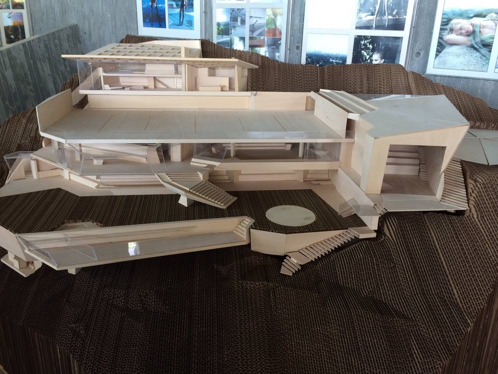 Sheats Goldstein Entertainment Complex Model