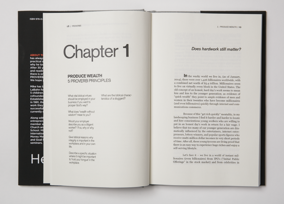 Each chapter starts like this, and beautiful, rich typography will usher you through…