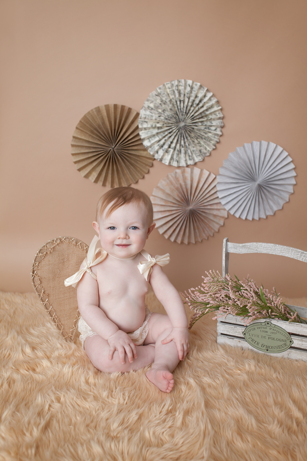 Worthington Photographer, one year studio photography session