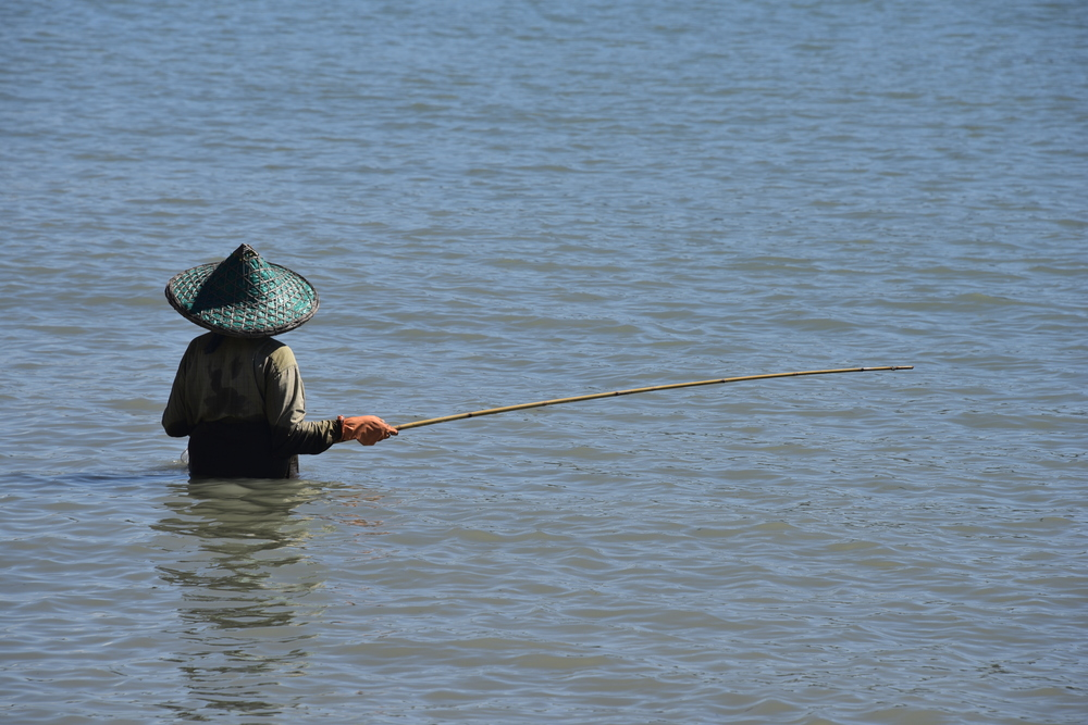A local fisherman.