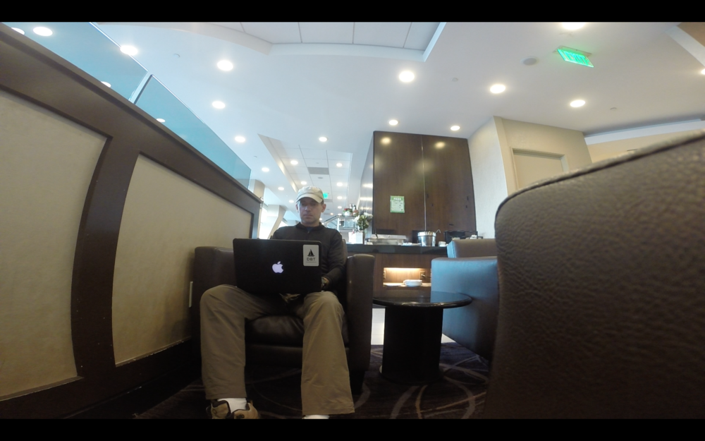 Writing my first update from the Air New Zealand business lounge at SFO.