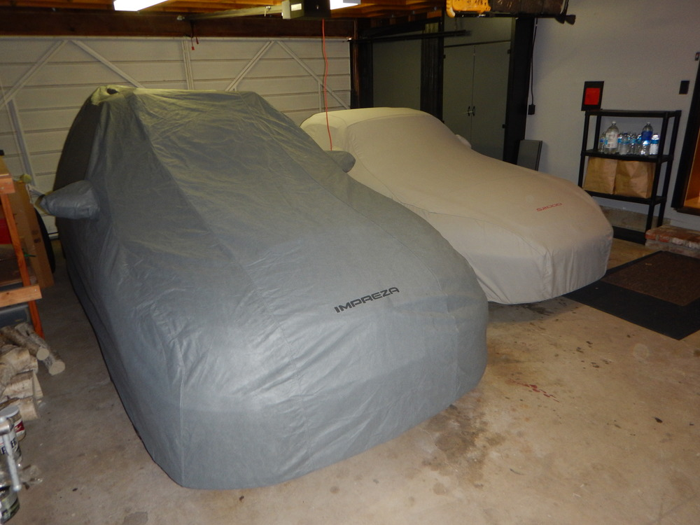Cars covered...