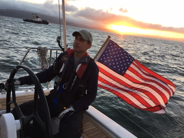 Taking a break from the heat in Sonoma Valley to enjoy 5 days of sailing on the San Francisco Bay, including a wonderful Fourth of July sail with friends, champagne, and tons of food.  Wind was a consistent 25 knots during those 5 days - so that added to the fun as well. :-)