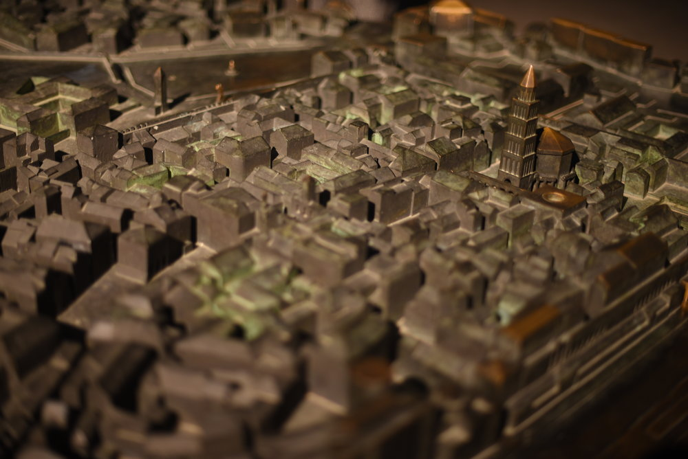 Miniature model of Old Town / Diocletian's Palace.