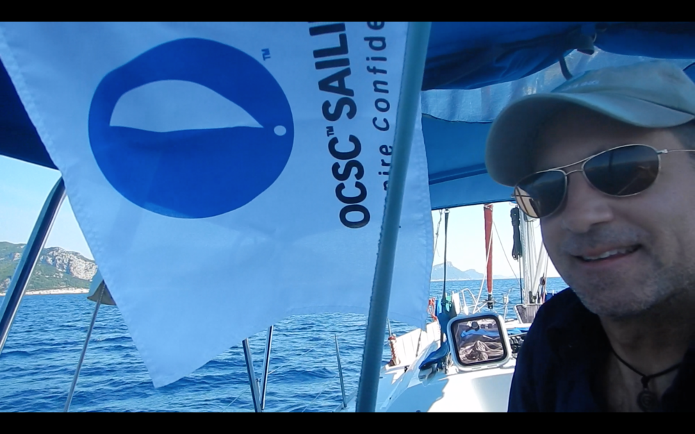 And thanks to OCSC - a fabulous organization who has given me the confidence to be a safe yet adventurous sailor.