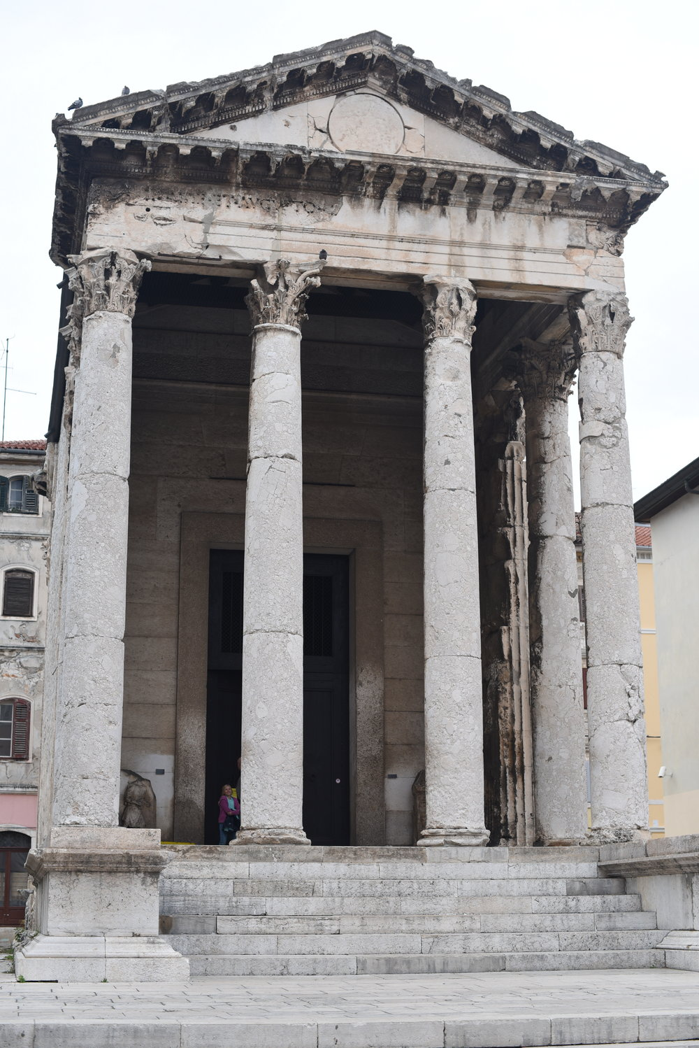 Temple of St. Augustus, Pula.