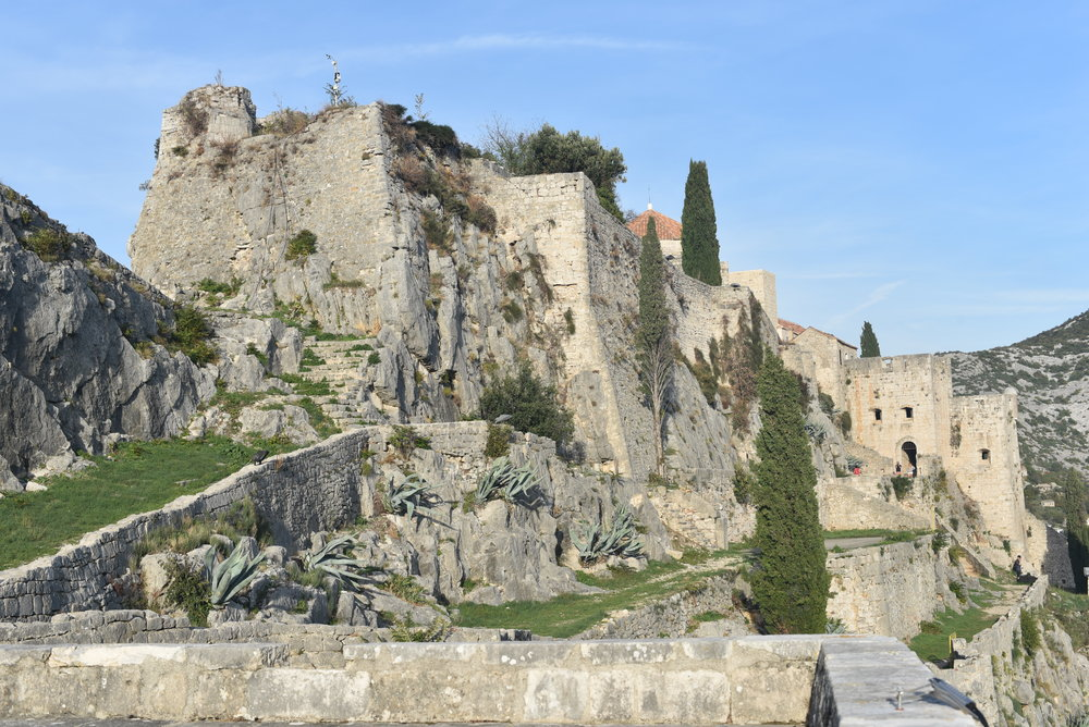 The Klis Fortress.