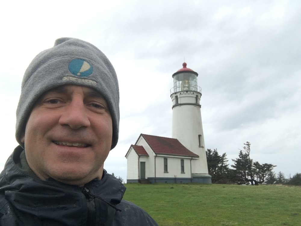 cape blanco lighthouse, oregon.